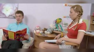 Русское порно: A young girl gave her teacher